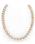 10-11mm Peach Freshwater Pearl Necklace - AAAA Quality