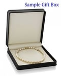 10-12mm Golden South Sea Pearl Necklace - Third Image