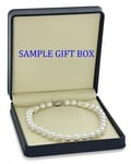 11-13mm White South Sea Pearl Necklace - AAAA Quality - Third Image