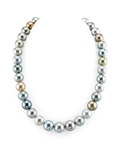12-14mm Tahitian South Sea Pearl Multicolor Necklace