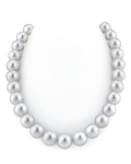 13-15mm White South Sea Pearl Necklace - AAAA Quality