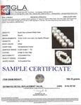 13-15mm White South Sea Pearl Necklace - Secondary Image