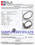 13-15mm Tahitian South Sea Pearl Necklace - Secondary Image