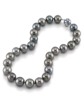 15-16mm Tahitian South Sea Pearl Necklace - Model Image