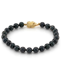 6.0-6.5mm Akoya Black Pearl Bracelet- Choose Your Quality - Third Image