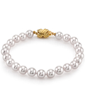6.5-7.0mm Akoya White Pearl Bracelet- Choose Your Quality - Secondary Image