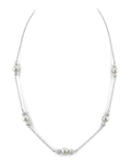 Japanese Akoya Pearl Tincup Tara Necklace