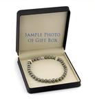 8-10mm Peacock Tahitian South Sea Pearl Necklace - AAAA Quality - Secondary Image