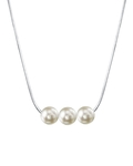 Pearl Moments - 6.5-7.0mm Akoya Pearl Chain Necklace - Model Image