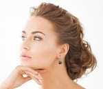 Tahitian South Sea Pearl Sally Earrings - Third Image