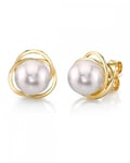 Akoya Pearl Lexi Earrings - Model Image