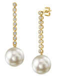 Japanese Akoya Pearl Serena Earrings - Third Image