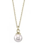Japanese Akoya Pearl Hope Pendant - Secondary Image
