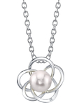 Japanese Akoya Pearl & Diamond Avery Pendant