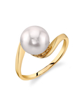 Akoya Pearl Felice Ring - Model Image