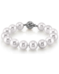 11-12mm White South Sea Pearl Bracelet - AAAA Quality