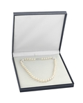 10-11mm White Freshwater Pearl Necklace - AAA Quality - Third Image