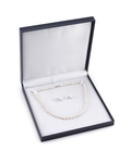 8-9mm Freshwater Pearl Necklace & Earrings - Fourth Image