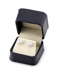 8mm South Sea Pearl Stud Earrings - Third Image
