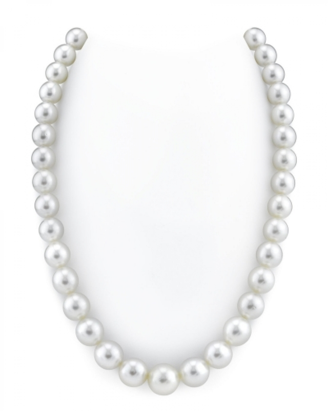 10-11.5mm White South Sea Pearl Necklace - AAAA Quality VENUS CERTIFIED
