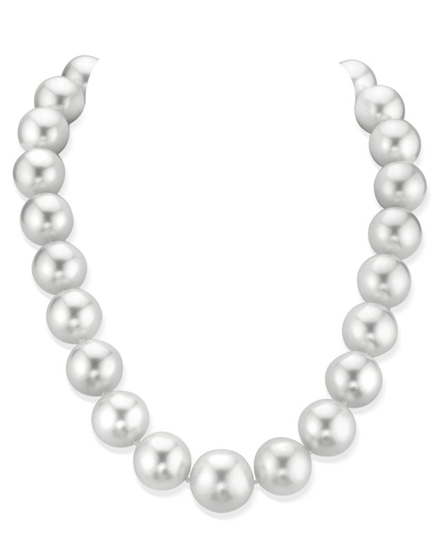 17-18mm White South Sea Pearl Necklace - AAAA Quality