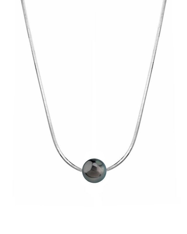 Pearl Moments - 8mm Tahitian South Sea Pearl Chain Necklace