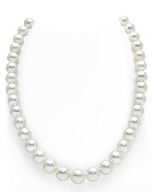 9-11mm White South Sea Pearl Necklace - AAAA Quality