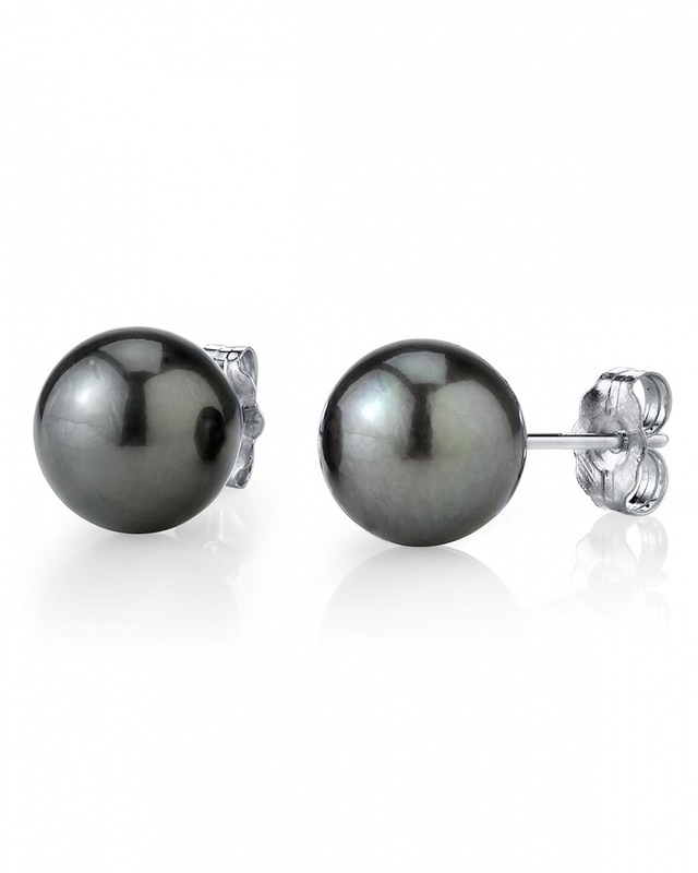 12mm Tahitian South Sea Pearl Stud Earrings- Various Colors