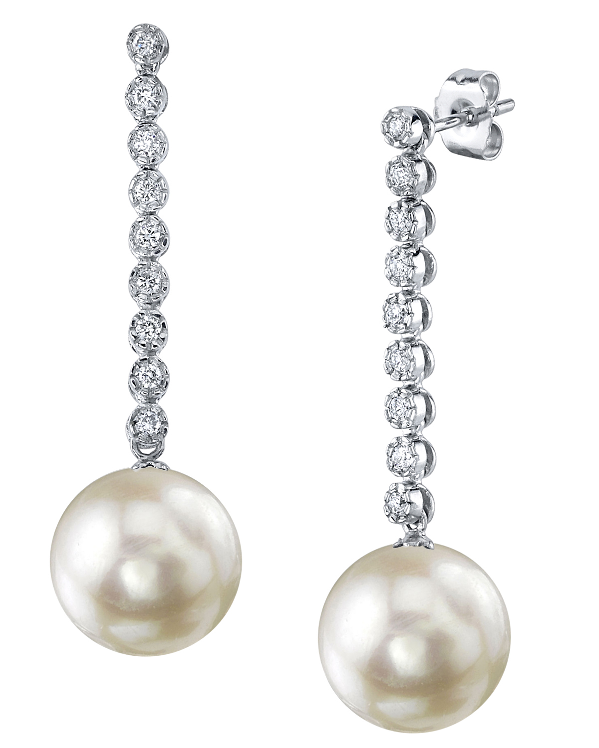 Japanese Akoya Pearl Serena Earrings