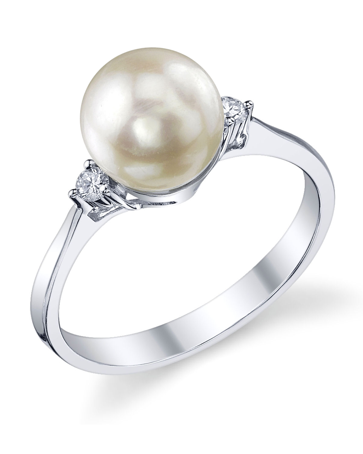Akoya Pearl & Diamond Jordana Ring