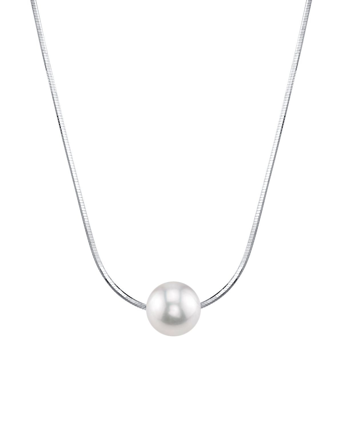 Pearl Moments - 8mm Freshwater Pearl Chain Necklace