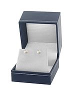 5.5-6.0mm White Akoya Pearl Stud Earrings - Third Image