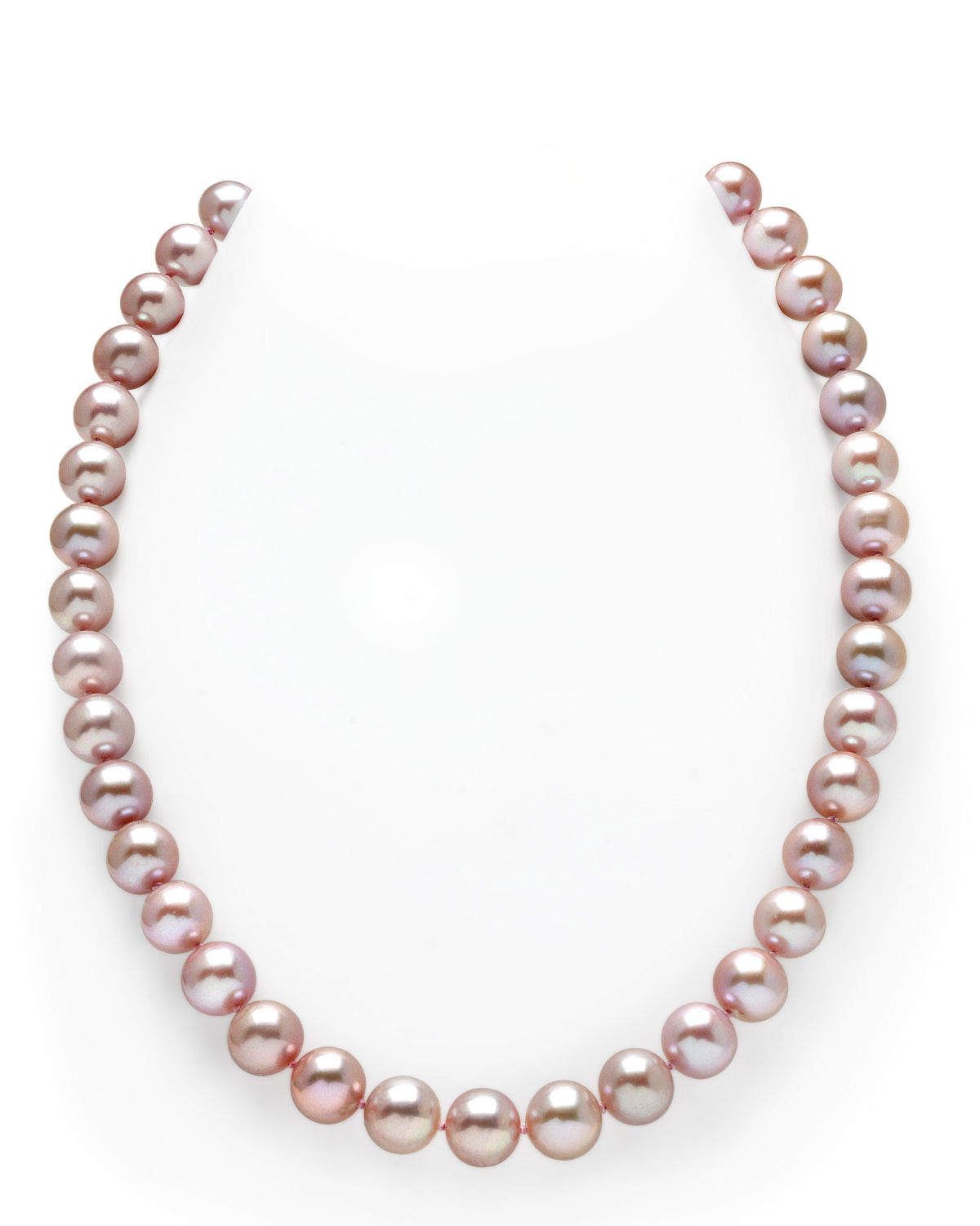 10-11mm Pink Freshwater Pearl Necklace