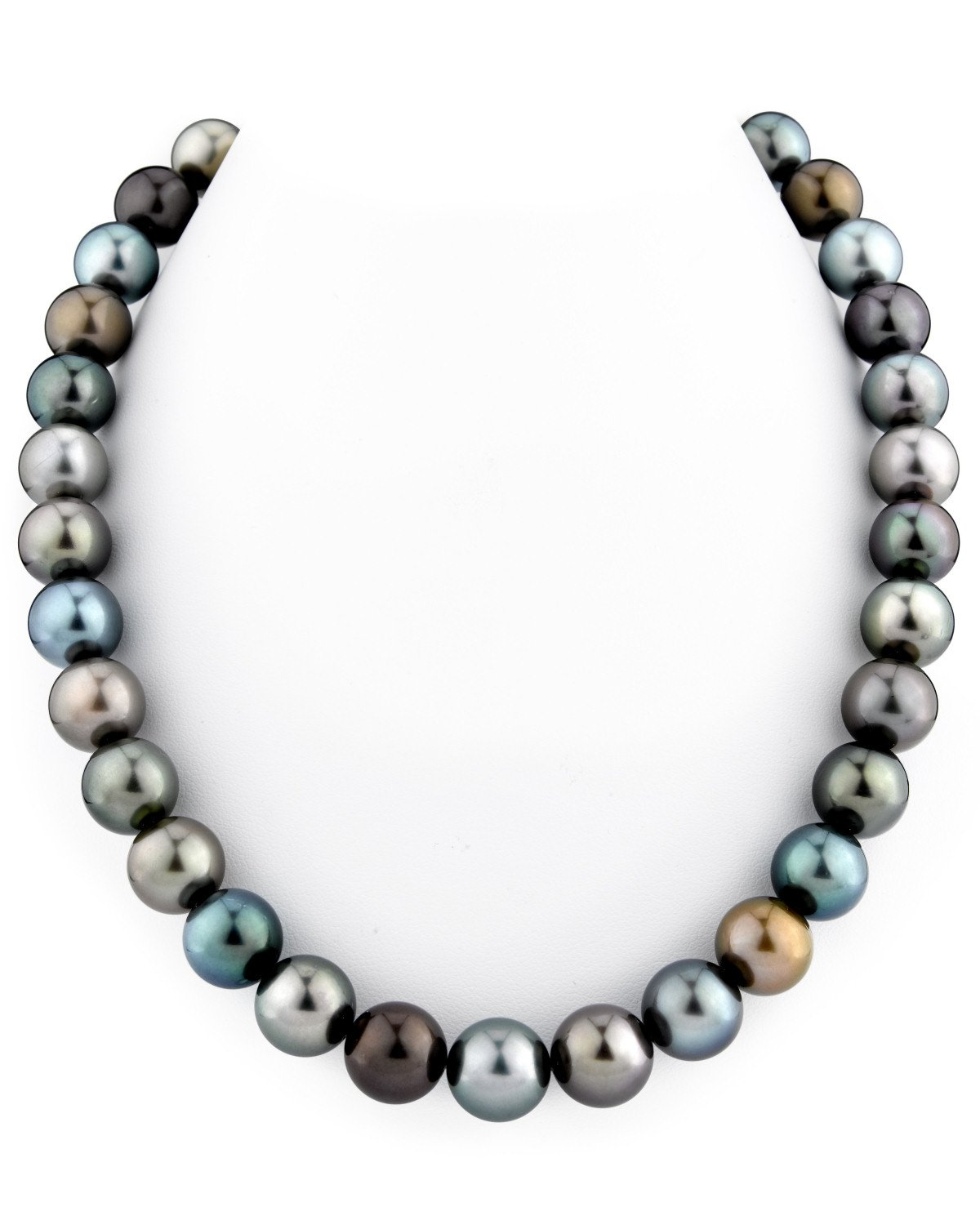 11-12mm Tahitian South Sea Multicolor Pearl Necklace