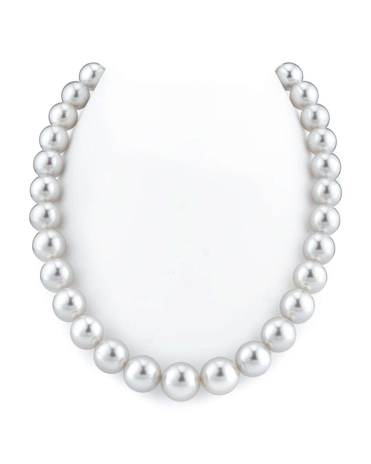 12-15mm White South Sea Pearl Necklace - AAAA Quality