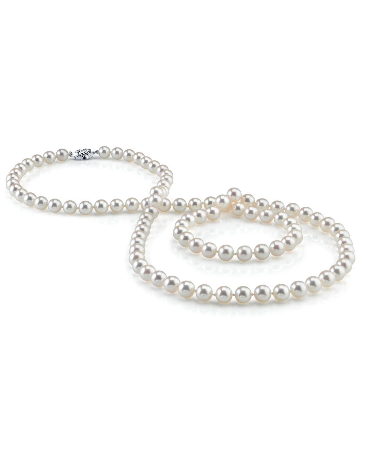 7-8mm Opera Length Freshwater Pearl Necklace
