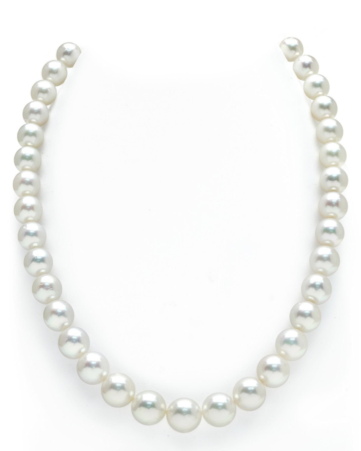 Beautiful!7-8mm White freshwater Cultured Pearl Necklace 24/'/'