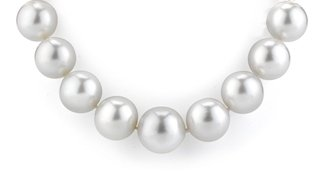 necklace made of white South Sea pearls